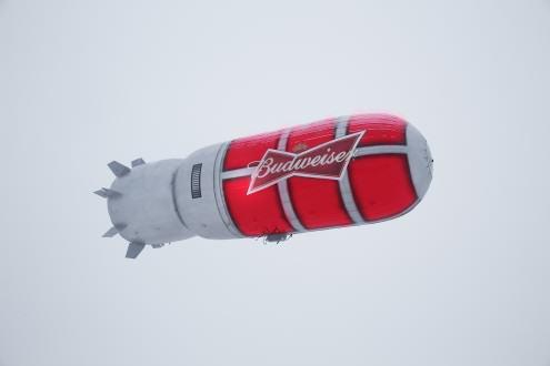 Zeppelin de Budweiser