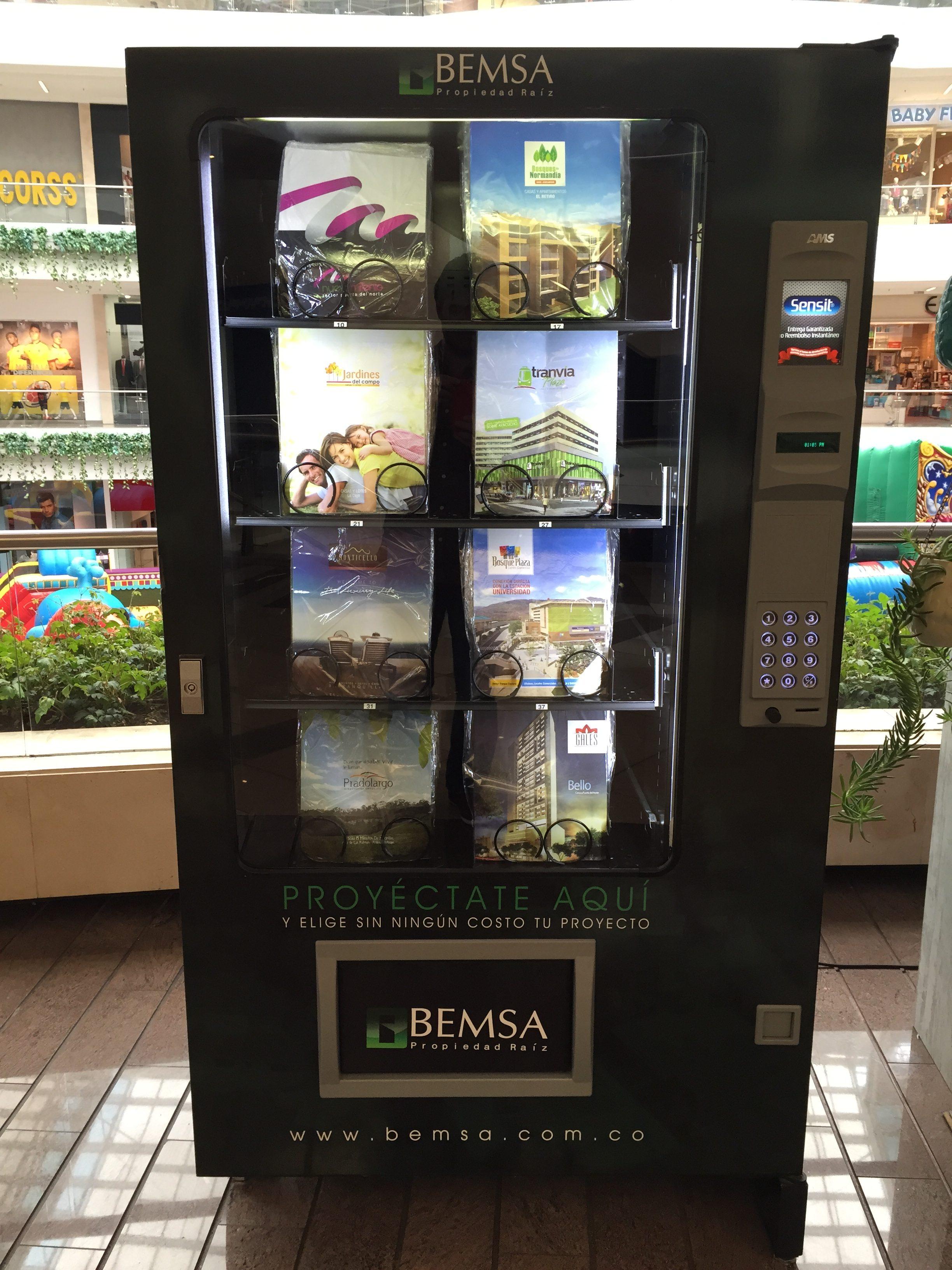 Vending machine proyectos inmobiliarios