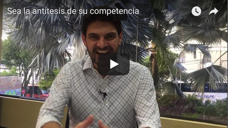 Sea la antitesis de su competencia video