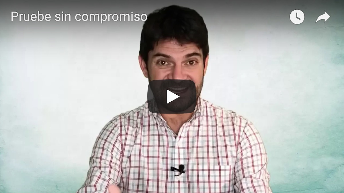 Pruebe sin compromiso video v2