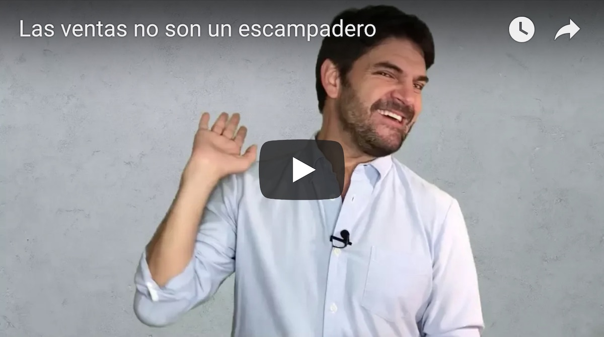 Las ventas no son un escampadero video