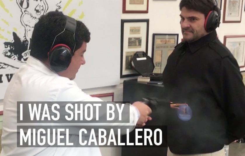 I was shot by Miguel Caballero - David Gomez