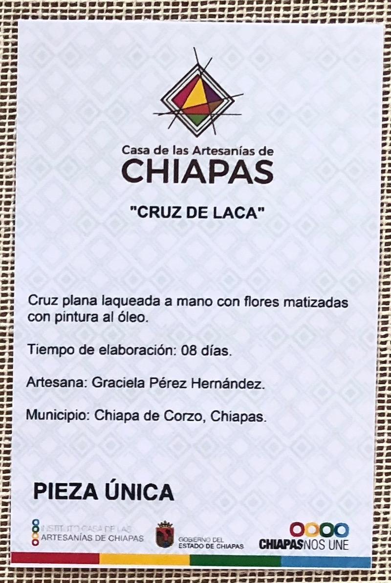 Cruz de laca Chiapas (zoom)