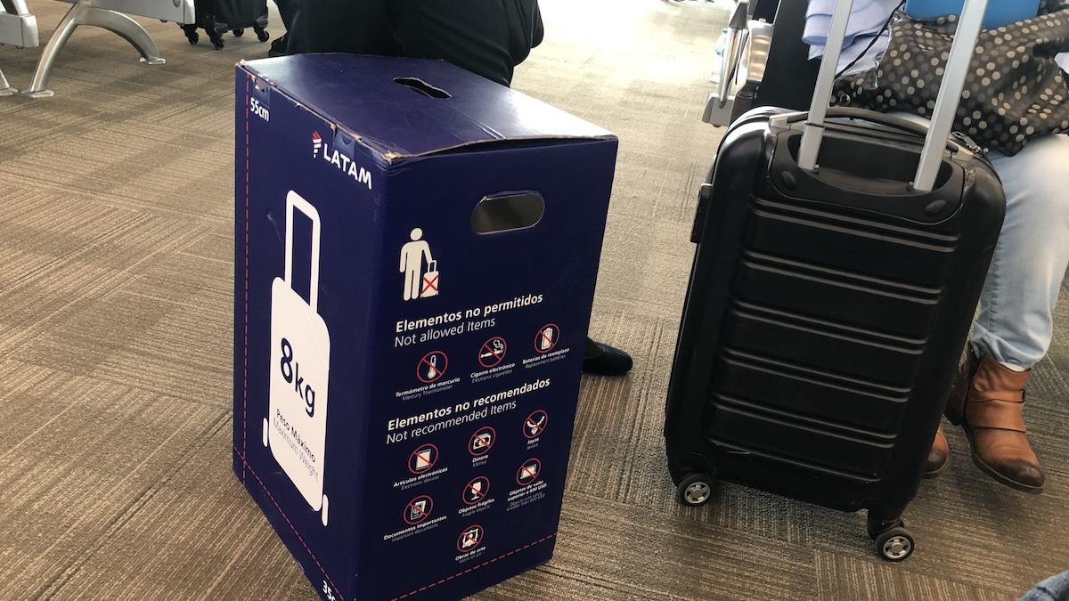 Latam equipaje de mano