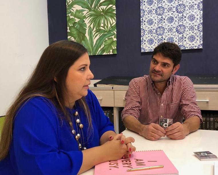 Gisela Martinez y David Gomez