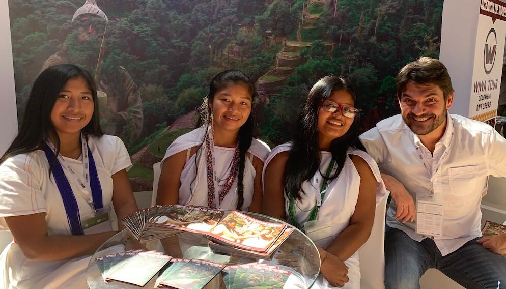 Wiwa Tour Stand Reconciliacion Colombia Santa Marta 2