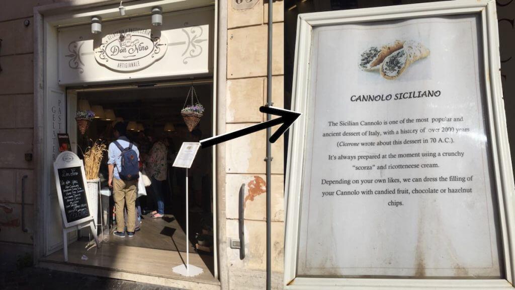 Historia del cannolo siciliano
