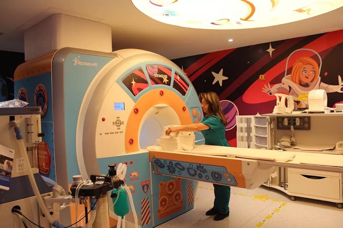 Resonancia magnetica pediatrica Instituto Roosevelt