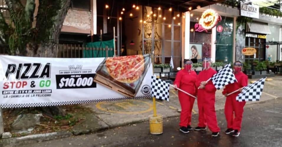 Cheers Stop & Go pizza