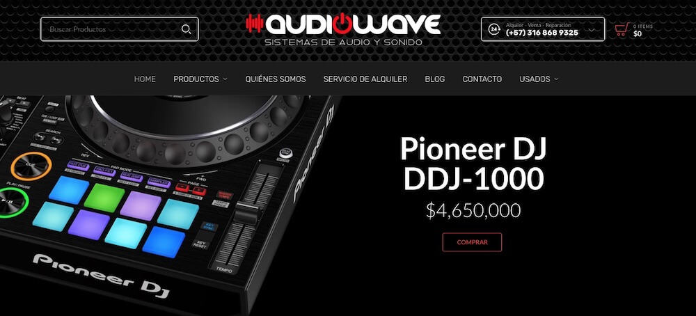 Audio Wave Medellin