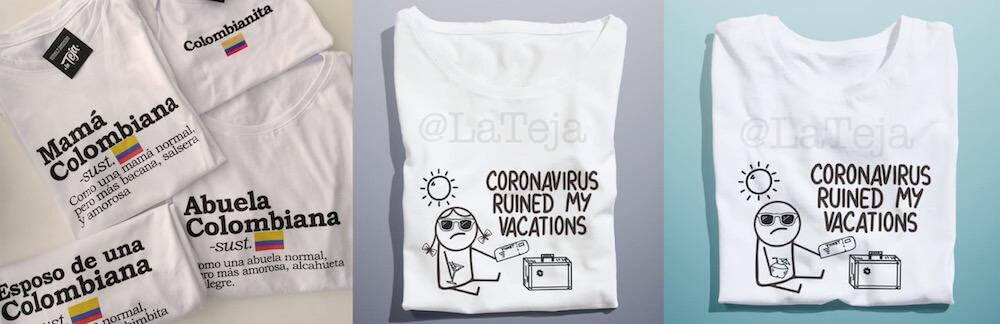 Camisetas La Teja