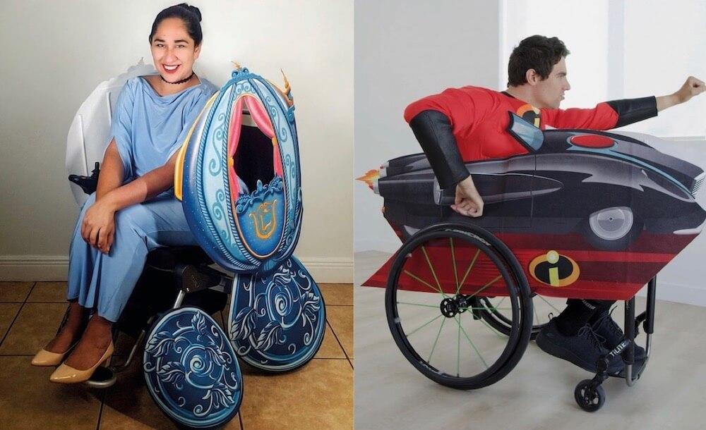 Disfraces para sillas de ruedas