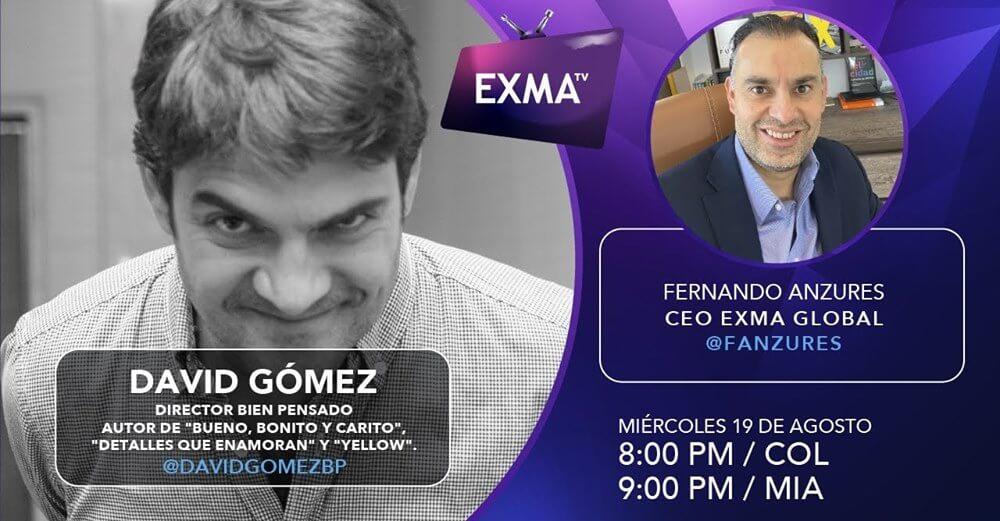 Fernando Anzures David Gomez EXMA TV