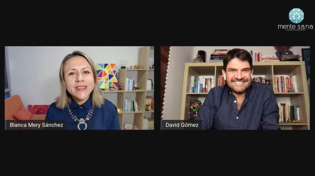 Relaciones poderosas Blanca Mery Sanchez entrevista David Gomez