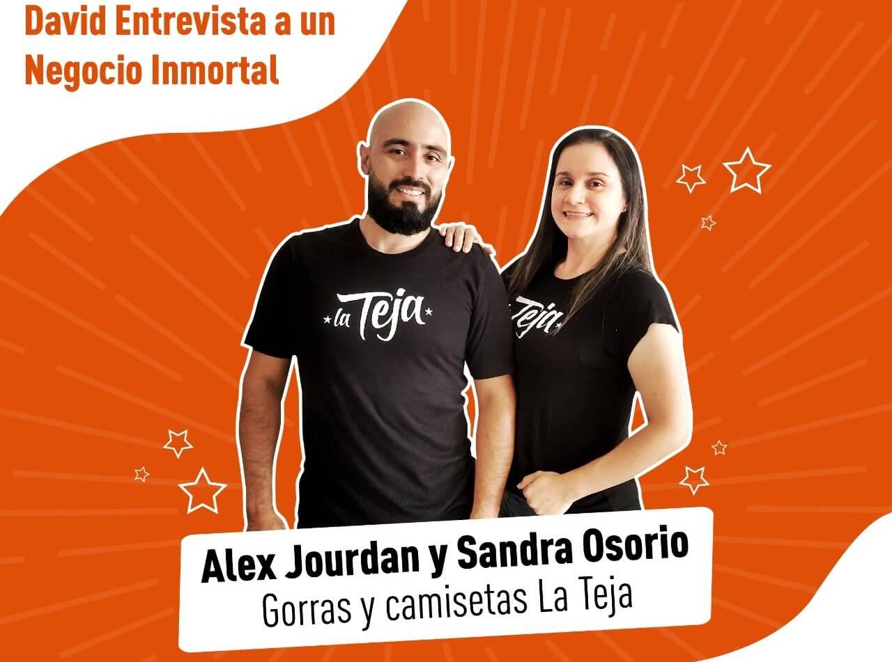 Alex y Sandra de La Teja