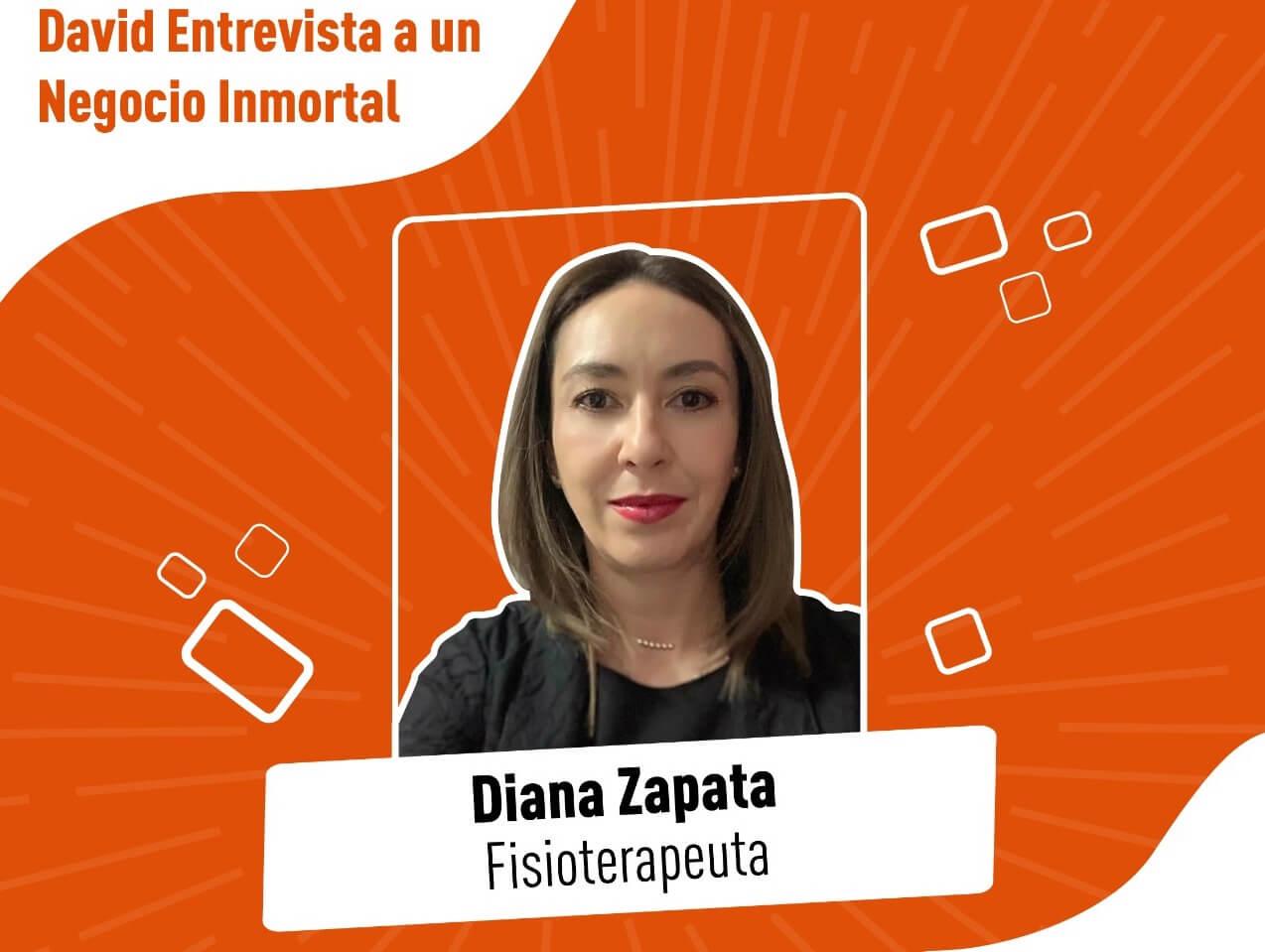 David Gomez entrevista Diana Zapata fisioterapeuta