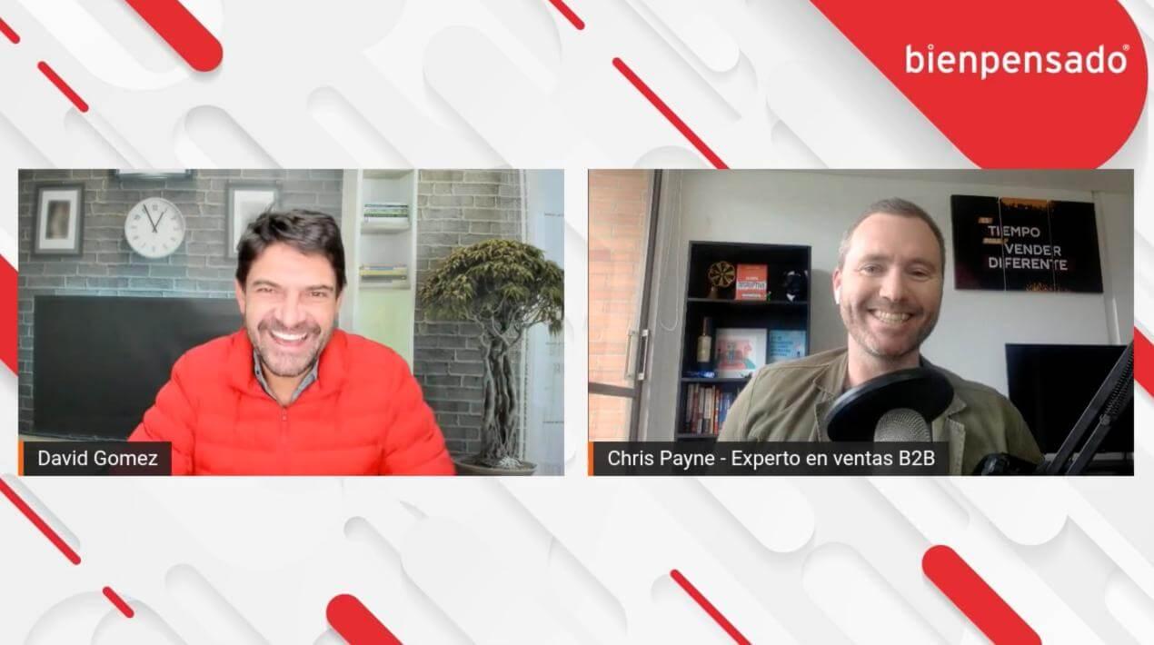 Entrevista Chris Payne La venta disruptiva