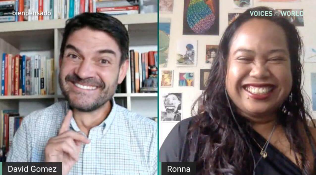 Maria Ronna Luna Voices of the World Fiji