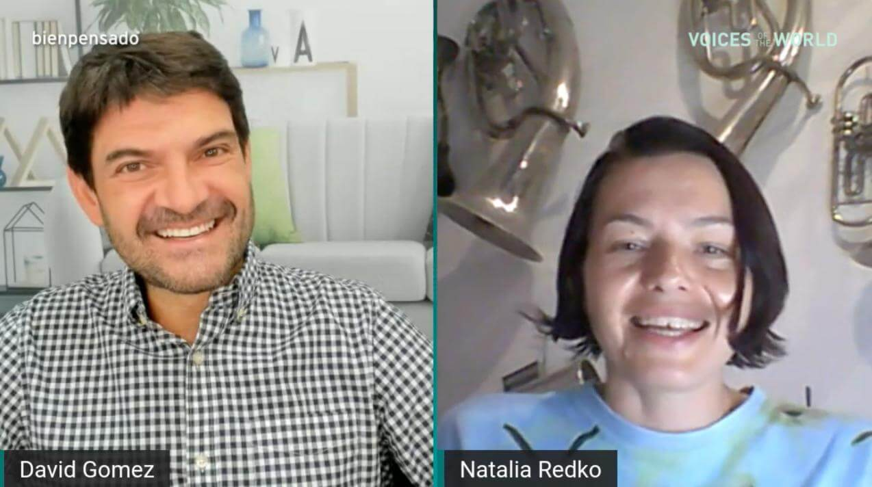 Voices of the World Natalia Redko blog