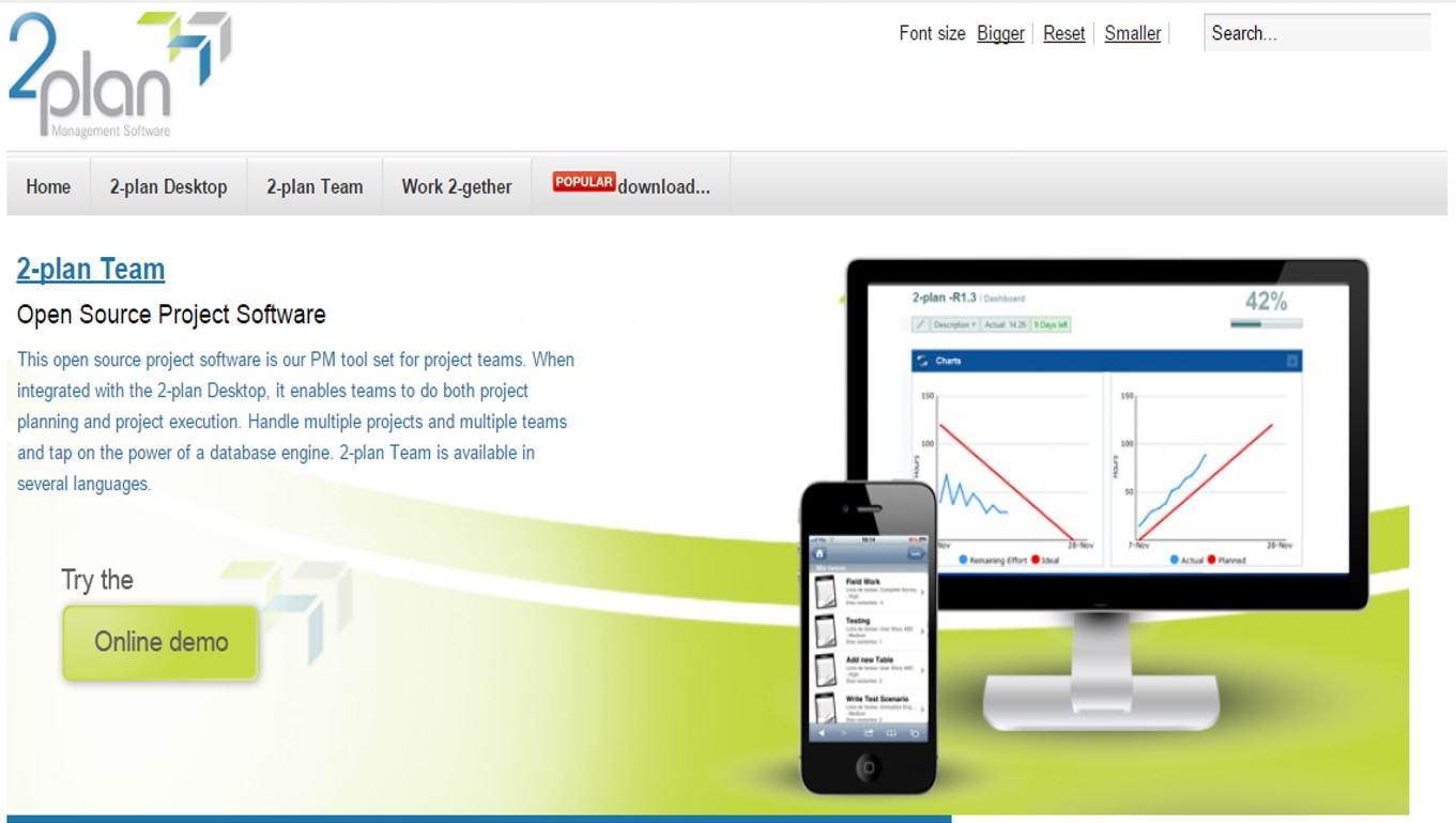 2plan management software