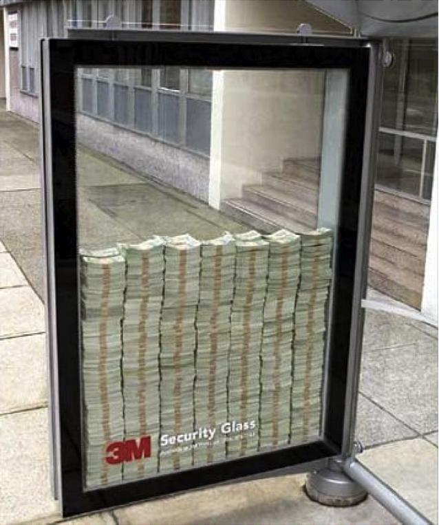 3M vidrios de seguridad