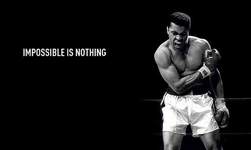 Adidas, impossible is nothing