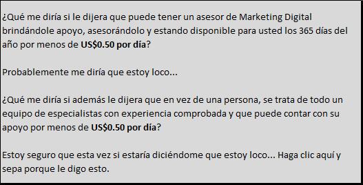 Asesor de Marketing