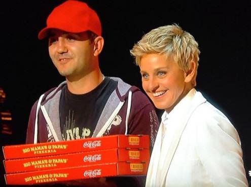 Ambush marketing pizza Big mama's and papa's