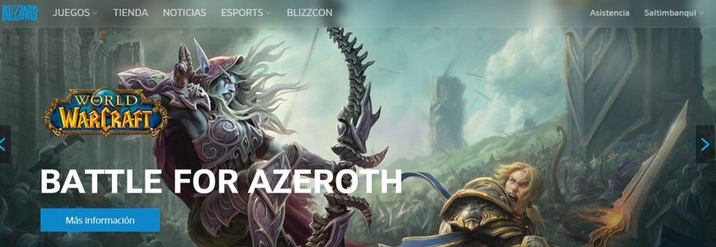 Tomado de Blizzard Entertainment.