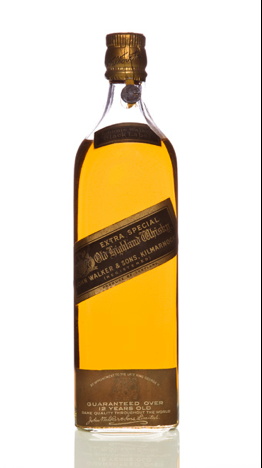 Botella Johnnie Walker