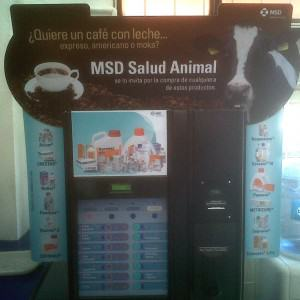 Cafetera MSD Salud Animal