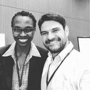 Carol Mwazi y David Gomez