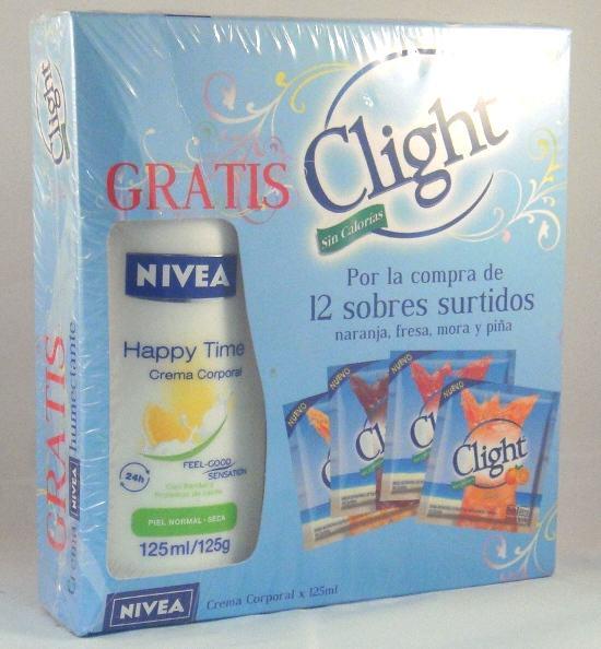 Clight gratis Nivea