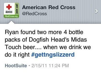 Tweet Cruz Roja