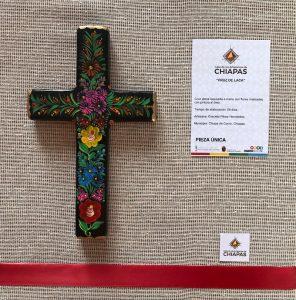 Cruz artesanal Chiapas