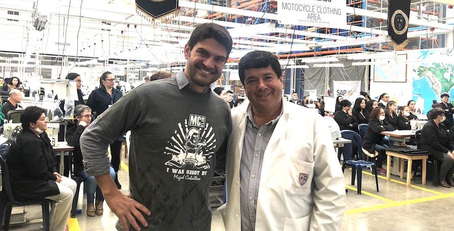 David Gomez y Miguel Caballero
