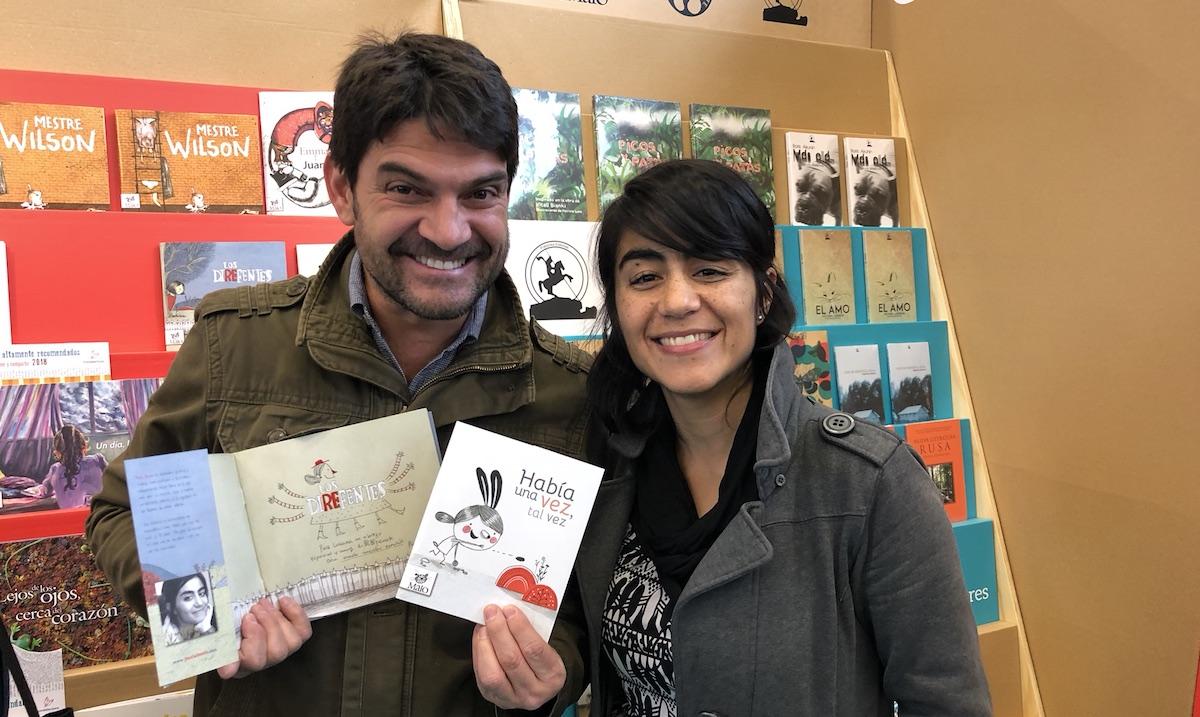 David Gomez y Paula Bossio