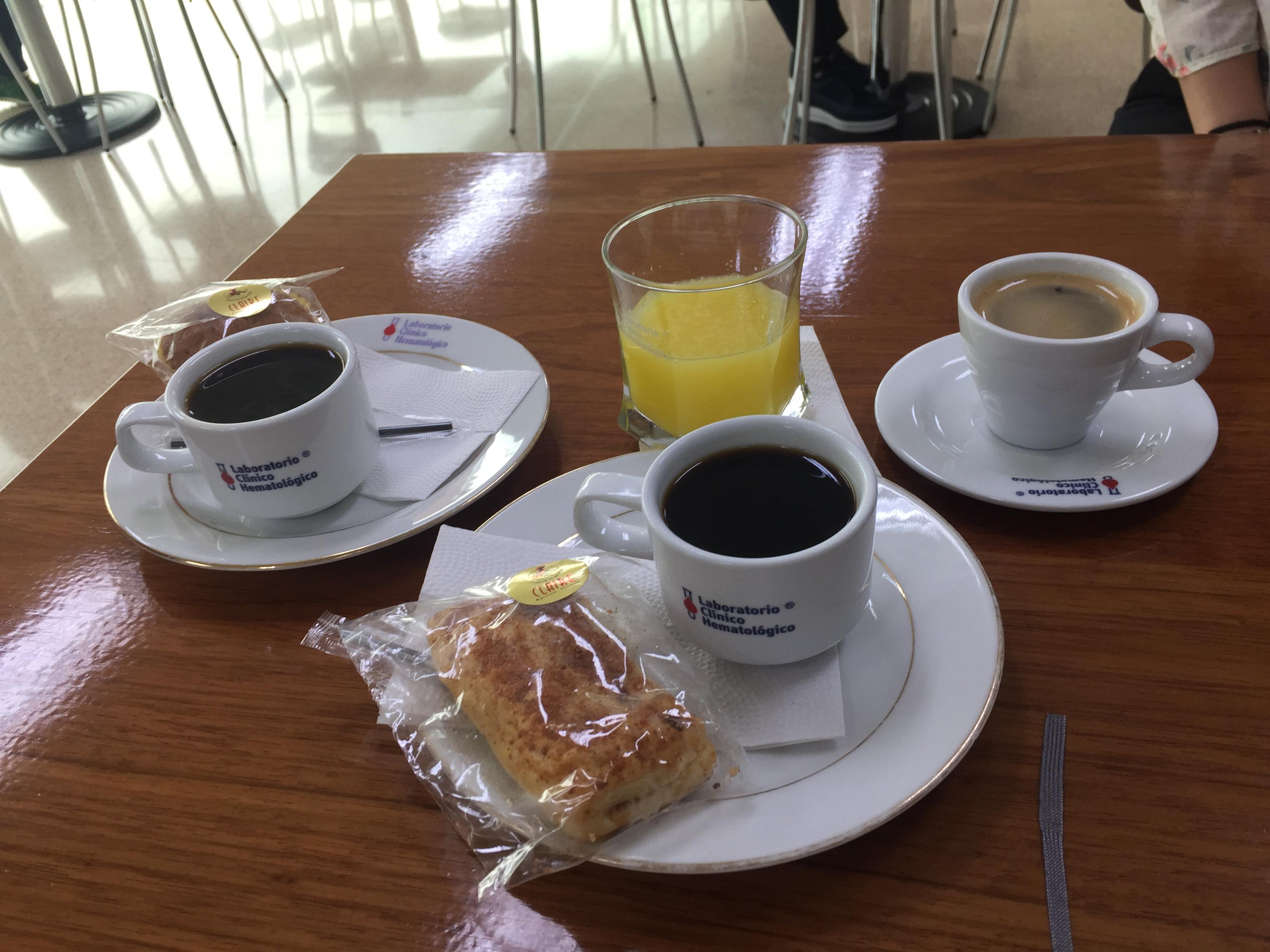 Desayuno de cortesia LCH