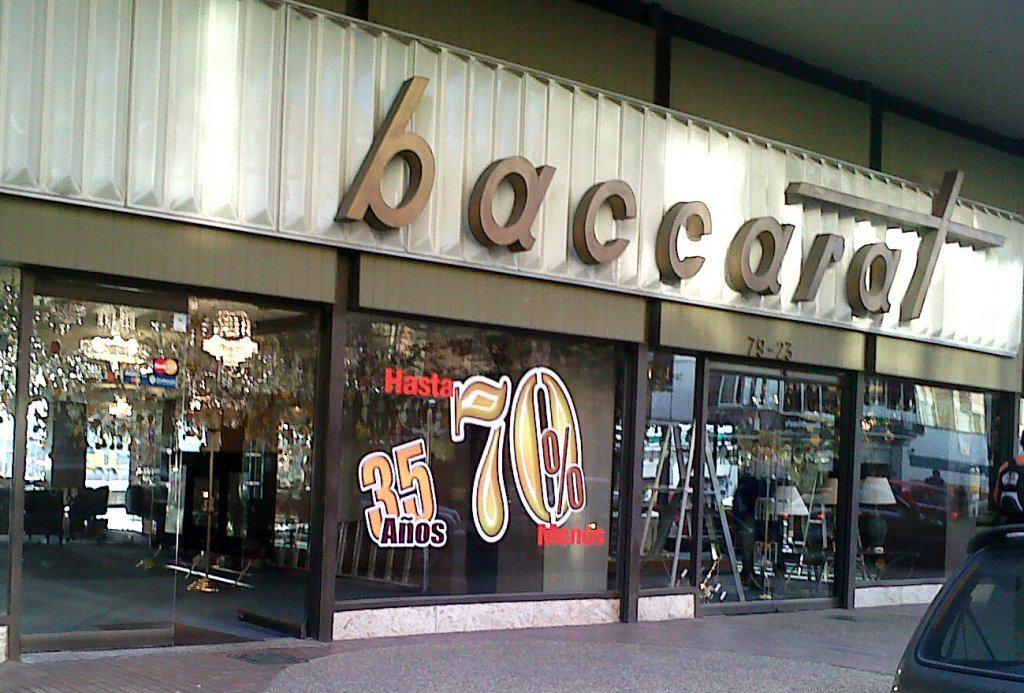 Descuentos Baccarat