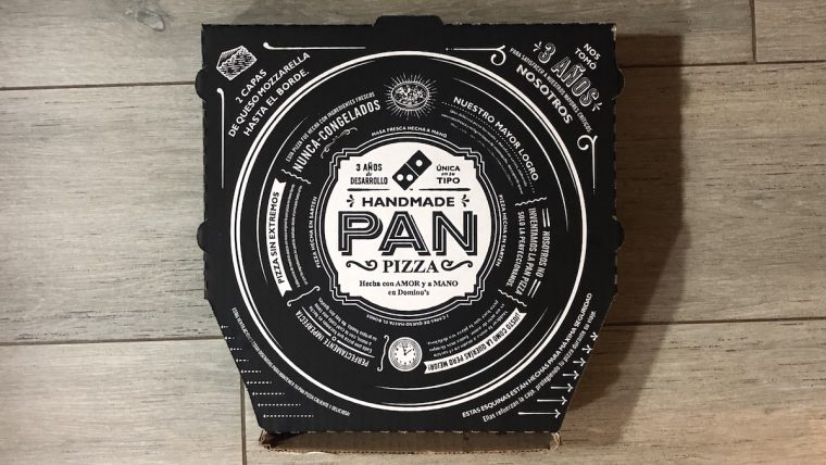 Domino's pan pizza