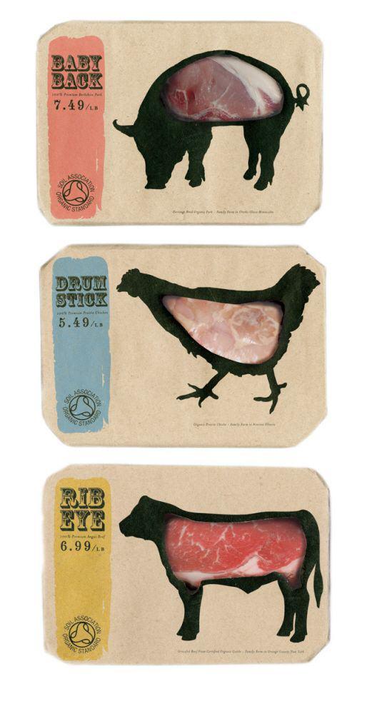 Empaque para carnes