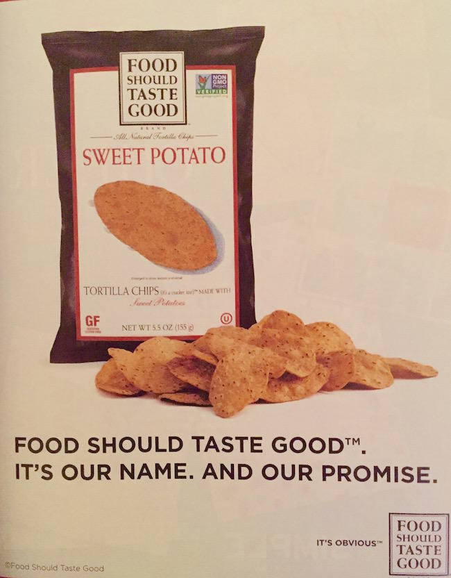 Food Should Taste Good Ad