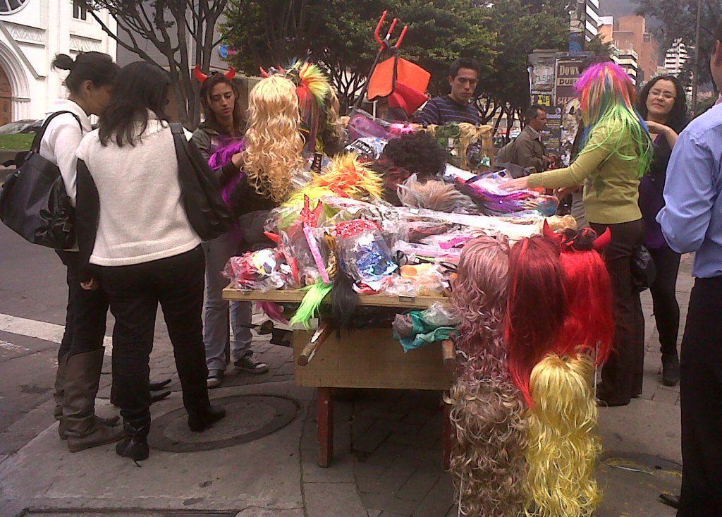 Halloween en la calle
