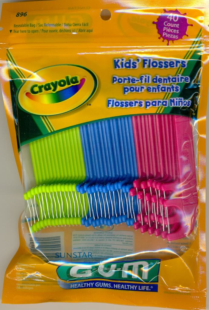 Hilo dental Crayola