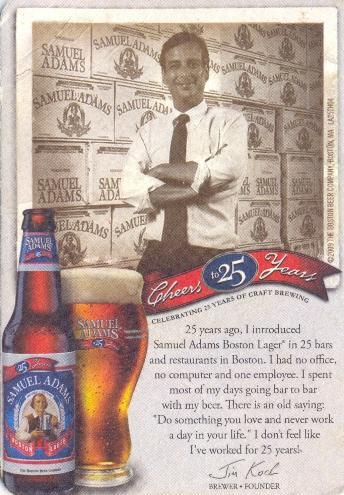 Historia cerveza Samuel Adams
