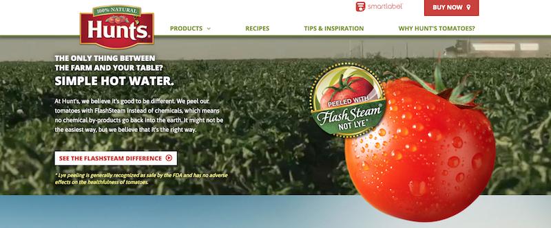 Hunts Tomatoes