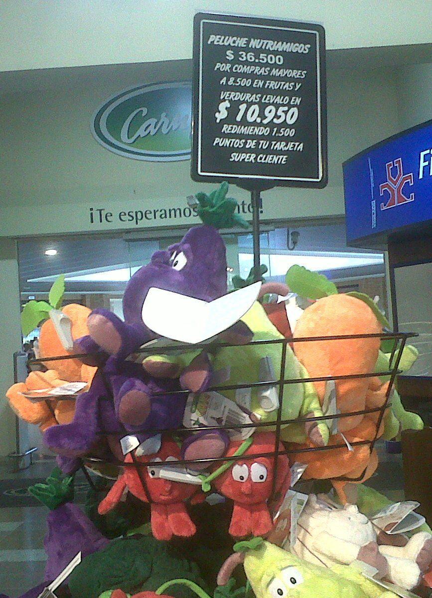Incentivo compra frutas y verduras