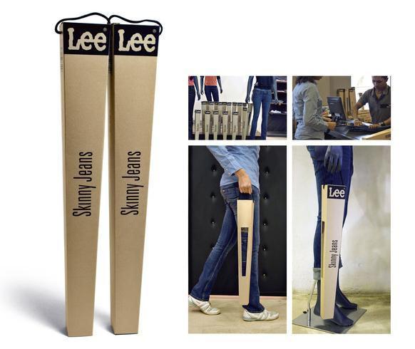 Lee - Empaque de jeans ajustados (Skinny Jeans)
