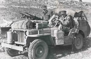 Jeep en la segunda guerra