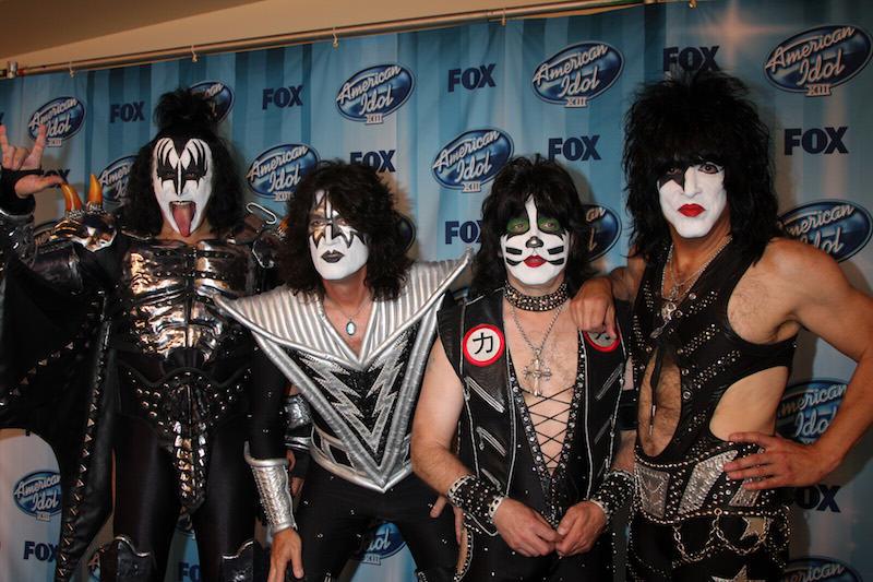 Kiss en American idol